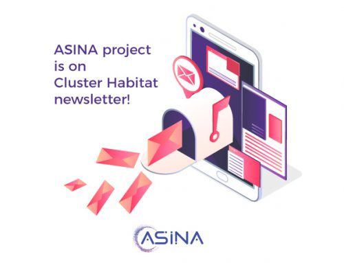 ASINA project is on Cluster Habitat newsletter!