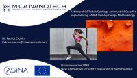 ASINA project presentation at NanoInnovation 2020