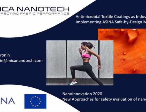 ASINA project at NanoInnovation 2020