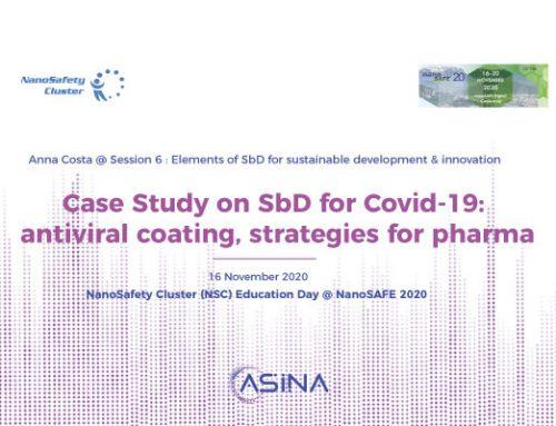 ASINA project at NanoSafety Cluster Education Day @ NanoSAFE